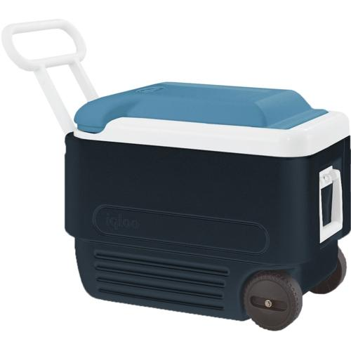 Igloo Maxcold 40 QT Roller Jet Carbon / Ice Blue / White