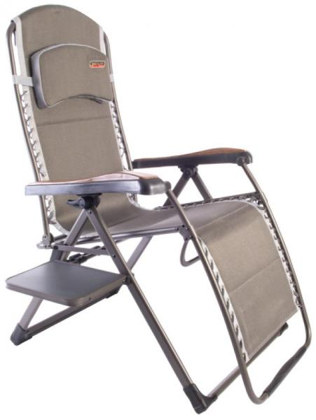 Quest Naples Pro Relax Xl Chair With Side Table Wood
