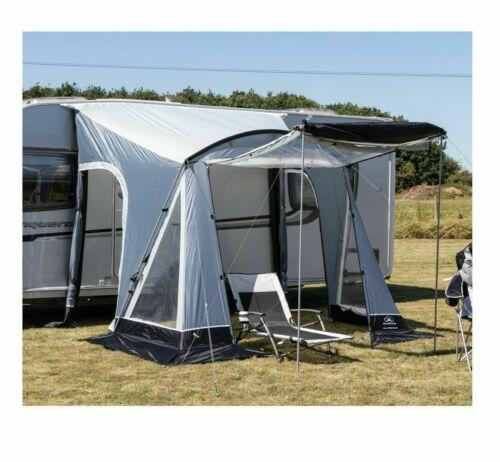 Sunncamp Swift 260 Deluxe Caravan Porch Awning Grey/Black ...
