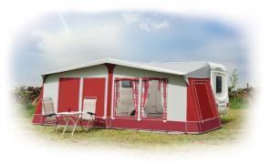 Awaydaze Caledonian Lux Acrylic Awning Camping Equipment