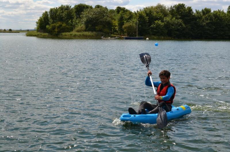 Riber Junior Sit On Top Kayak Ideal for Kids Riber Lake Blue