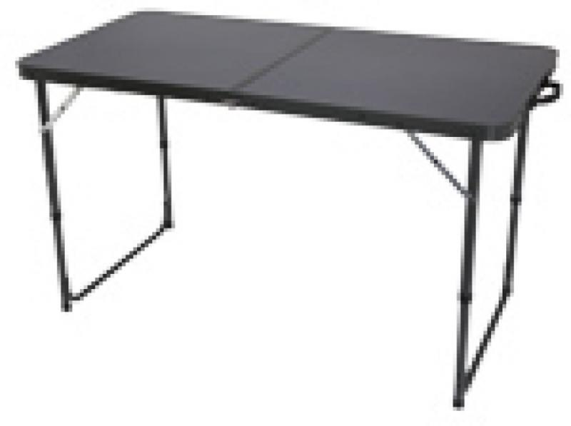 Quest Superlite Black Stow Folding Camping Table Camping