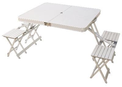 Asda directfolding aluminium table customer reviewsproduct glass aluminum folding table on folding aluminium picnic table chairs ideal camping 20 04 new watchthetrailerfo