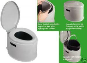 Kampa Khazi Portable Camping Toilet | Camping Equipment | Camping ...