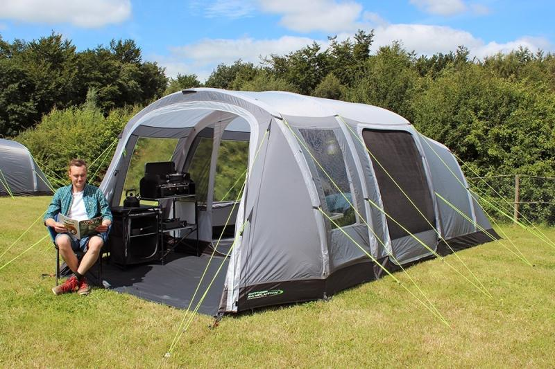 Outdoor Revolution Camp Star 500XL Inflatable 5 Berth Tent ...