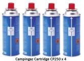 Campingaz CP250 Cartridges Sleeve of 4 Gas