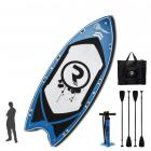 Riber Mega 550 iSUP Inflatable Paddleboard For up to 10 People