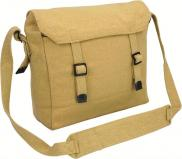 Highlander Army Military Webbing Haversack Messenger Bag - Beige