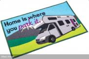 Quest Motorhome Washable Home Is Where You Park It Motorhome Mat C0051N