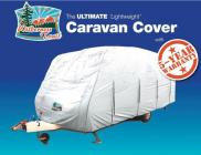 Wilderness Trail 17-19ft Ultimate Caravan Cover Purpleline