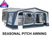 Dorema Garda 240 Seasonal Pitch 25mm Steel Frame