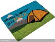 Quest Washable Home Is Where You Pitch It (Tent) Mat  C0054N