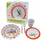 Harry and Friends - 5pc Childrens Melamine Set