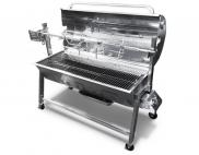Tasty Trotter Gas And Charcoal Combination Oven with Rotisserie for BBQ