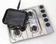 Spinflo 4 Burner Grill Hob s/steel