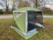Quest Screenhouse 4 Pro Pop Up Tent Gazebo Shelter ZIP Down Blinds