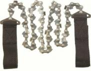 Highlander Mini Hand Chain Saw Steel Webbing Handle Survival Bushcraft