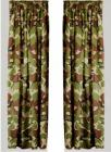 Highlander Army Camouflage Curtains Green Brown Military DPM