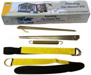 Awning Tie Down Kit Black Storm Straps Over The Top