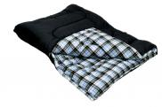 Quest Leisure Products Lakeside Ontario Sleeping Bag - Cozy Fleece Inner