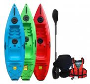 Riber Standard Sit On Top Kayak RED – Starter Pack