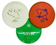 Kastaplast Disc Golf Disc Set with Kaxe K3, Reko K3, Grym K1 - PDGA Approved
