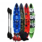 Riber Family Sit on Top Starter Pack Kayak Green White & Black