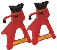 Streetwize Pair of 2 Tonne USA Style Jack Axle Stand SWJS2T