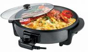Leisurewize Low Wattage 230V Multi Function Electric Cooking Fryer Grill Skillet