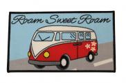Quest Motorhome VW Washable Roam Sweet Roam Motorhome Mat C0050