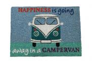 Quest Motorhome VW Heavy duty coir happinesis goine away in a campervan