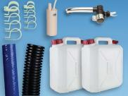 Plumbing Kit for Campervan Sink Tap Pump & 10L Water Containers T4 T5