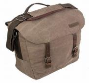 Highlander CALTON 18L Heavy Duty Canvas Messenger Bag Brown
