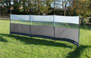 Leisurewize Polyester WindBreak Wind Screen Charcoal