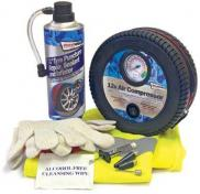 Streetwize Tyre Sealer Kit With 12V Air Compressor Roadside Repair Kit SWCHEM9